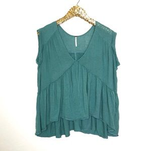 Free People Tiered Babydoll Top